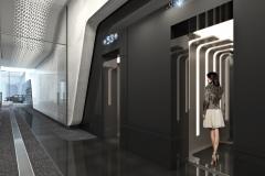 1000 Museum Elevator Lobby