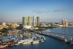 Downtown Miami Skyline - the One Museum condominium