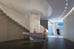1000 Museum Spa Lobby