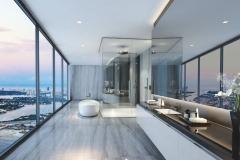 Bathroom 2- Black Countertop