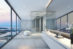 Bathroom 2- White Countertop